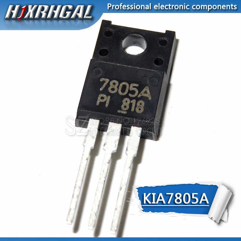 10 pièces KIA7805A 7805A plastique TO220F nouveau et original HJXRHGAL