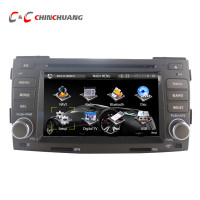 Hyundai Sonata NFC 2009 Dvd Player GPS Navigation Radio TV BT Russian Menu Free 4G