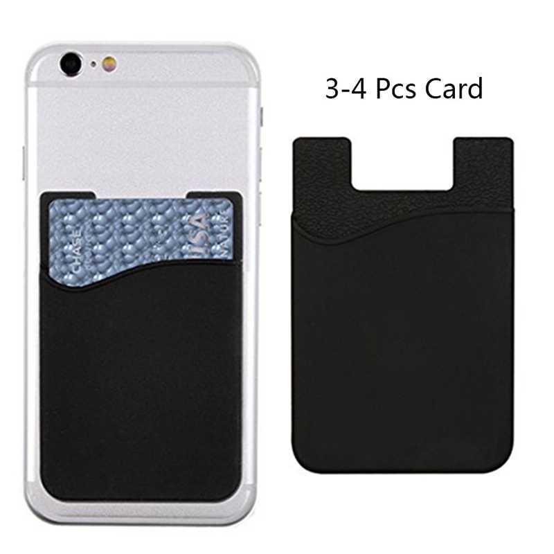 Business Credit Pocket Adhesive Fashion Vrouwen Mannen Mobiele Telefoon Houder Id Kaarthouder Slim Case Sticker Kopen 50 Stukken Hebben korting