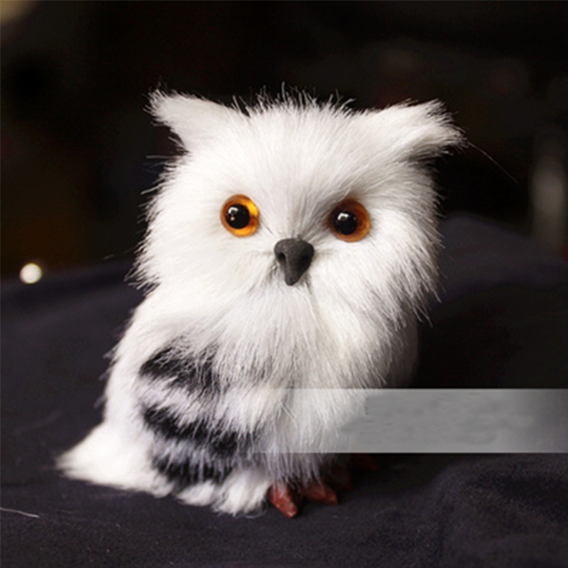 One Piece Super Cute Simulation Owl Plush Toys Doll Animal Kids Gift Baby Toys Kawaii Plush Anime Model For Children Hot Sale stuffed animal 44 cm plush standing cow toy simulation dairy cattle doll great gift w501