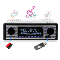 Bluetooth стерео MP3 USB SD автомобиль MP3 плеер Авто Автомобиль Классический FM ретро радио плеер u-дисковый разъем-в Радио DVD для автомобиля машина