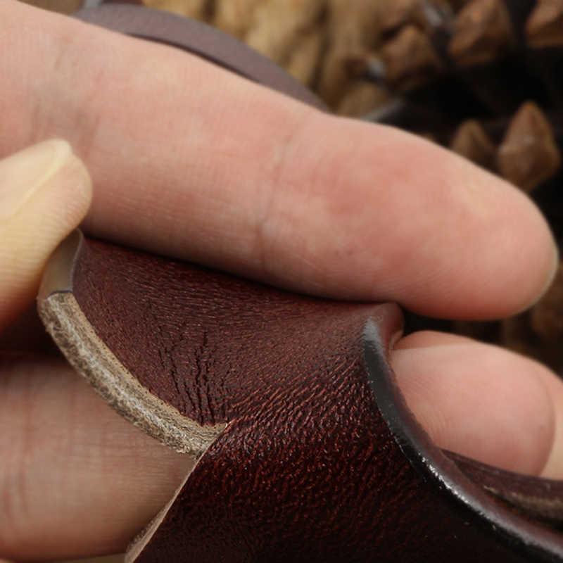 HREECOW גברים חגורה פרה עור אמיתי יוקרה רצועת זכר חגורות לגברים חדש אופנה קלאסי בציר סיכת אבזם dropshipping