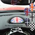Etiqueta del coche para BMW mini cooper JCW uno F56 F55 pegatina salpicadero interior accesorios