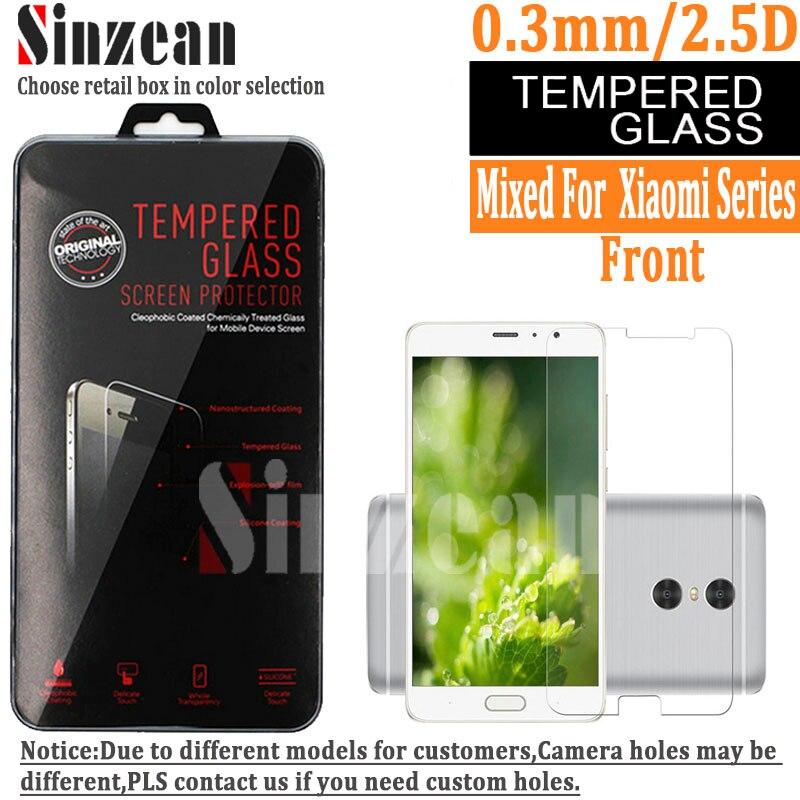 bilder für 100 stücke Für Xiaomi mi5X MI 2/3/4/5/6/4 S/4C/4e/5C/5 S Plus/6 Plus/MAX2/MIX/NOTE 2 Gehärtetem Glas klar glas-schirm-schutz 2.5D 9 H