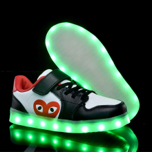 Kids Glowing Shoes LED Sneakers with Girls Boys  led buty baby sneakers