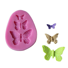 3D Kitchen Silicone Butterfly Shape Chocolate Cookie Cake Baking Molds Decorating Fondant Mould Tool Decoration Kitchenware