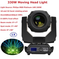 Hot Sale Professional 330W Moving Head Light DMX DJ Disco Party Wedding Stage Effect Lights With