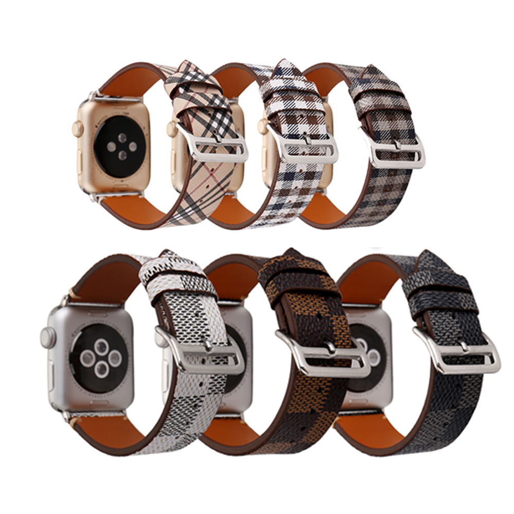 For Apple Watch band Genuine Leather bracelet Wrist Watchband iwatch series 38mm/42mm 3/2/1 Belt Replacement Apple Watch Strap