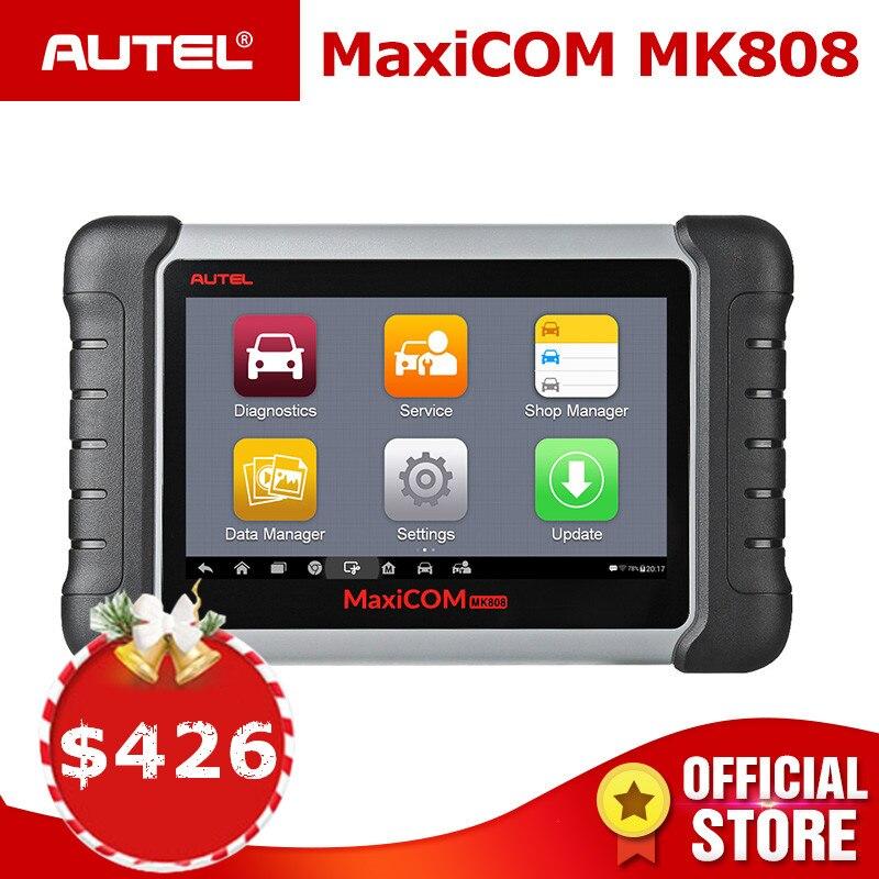 Autel MaxiCOM MK808 OBD2 Scanner De Diagnostic Auto Outil OBD 2 Automobile Code Lecteur Tester ODB2 Immobilisation Programmeur principal MX808