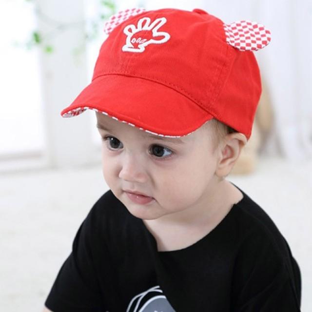 al por mayor online estilos de moda diseñador nuevo y usado € 2.43 22% de DESCUENTO|Niño deporte gorra de béisbol de algodón lindo poco  oreja de gato bebé niños niñas tapa sombrero de verano nueva llegada en ...