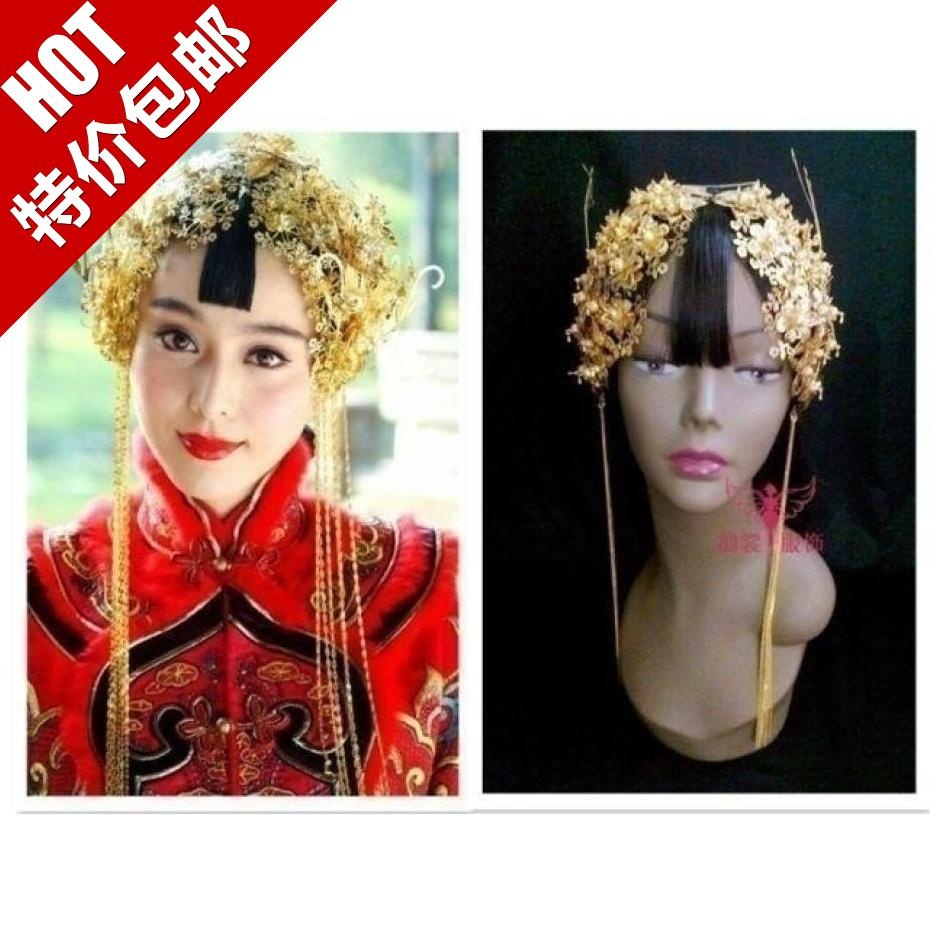 TV Play Yan Zhi Xue Same Design Bride Wedding Coronet classical hair accessory  hanfu costume  bride  hair tiaras cr0017 czech 1996 world heritage roleta and shengnai bohm church 2 new 0528 grams