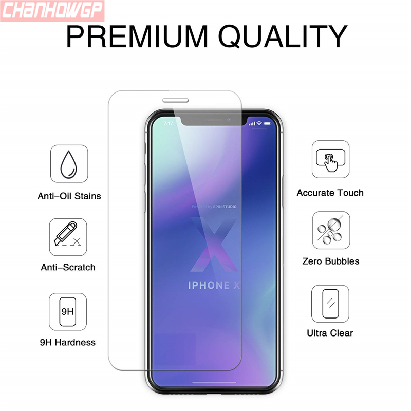 Ultimate Sale¡Glass Screen-Protector-Film iPhone8-Cover 8-Plus for X XS MAX 6/6s/7/.. 4S 11pcs/Lot