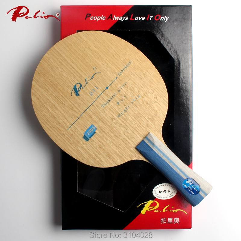 Palio oficiālā B-11 galda tenisa asmens 5 kārtu tīra koka ātrs uzbrukums ar galda tenisa rakešu spēles galda tenisa spēli