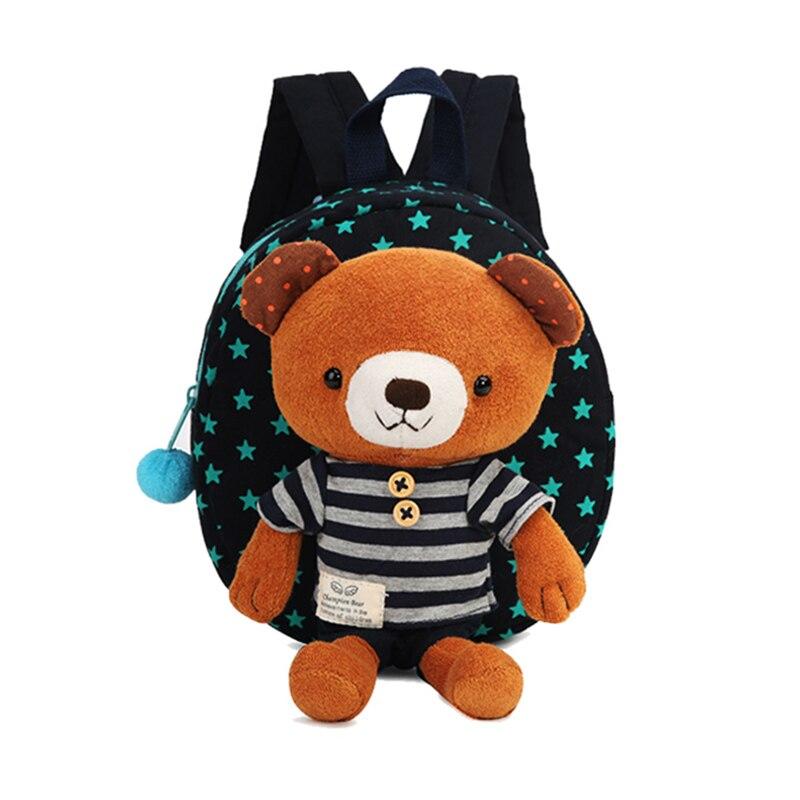 Children Anti Lost Child Bag Cartoon Shoulder Bags Bear -5928