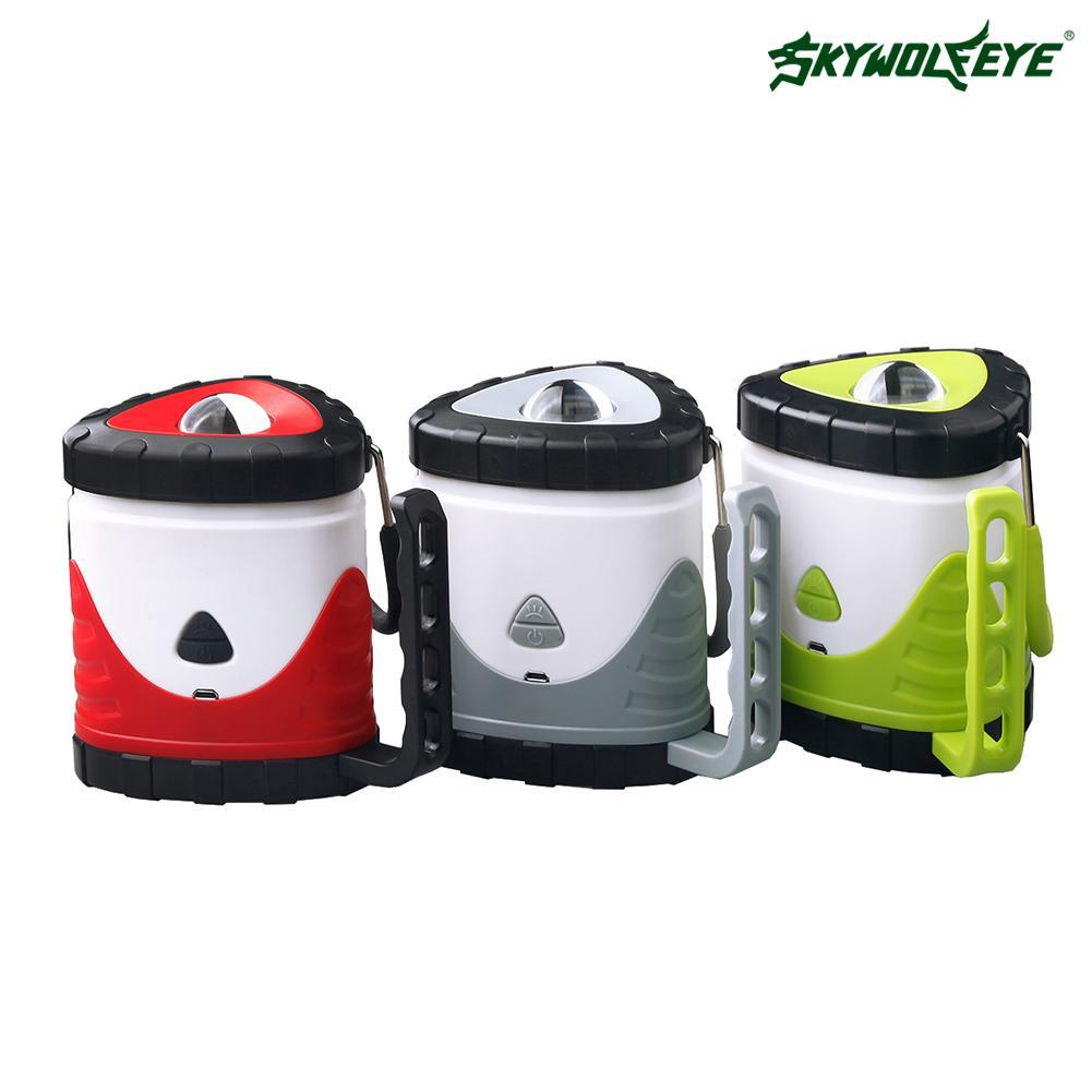 Portable 3 in 1 Bright Lightweight 10 LED Camping Lantern Outdoor Lights Waterproof Night Lamp for Outdoor Activity at Night
