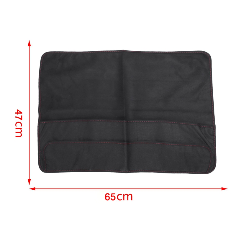 Black Computer Monitor Dust Cover Protector With Inner Soft Lining For Apple Imac Lcd Screen(27Inch Without Pocket)