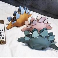 DUSUN Creative Chameleon Cartoon Handbags Flap 3D Funny Dinosaur Animal Messenger Bag Panelled Shoulder Crossbody Bags Girl Gift 2