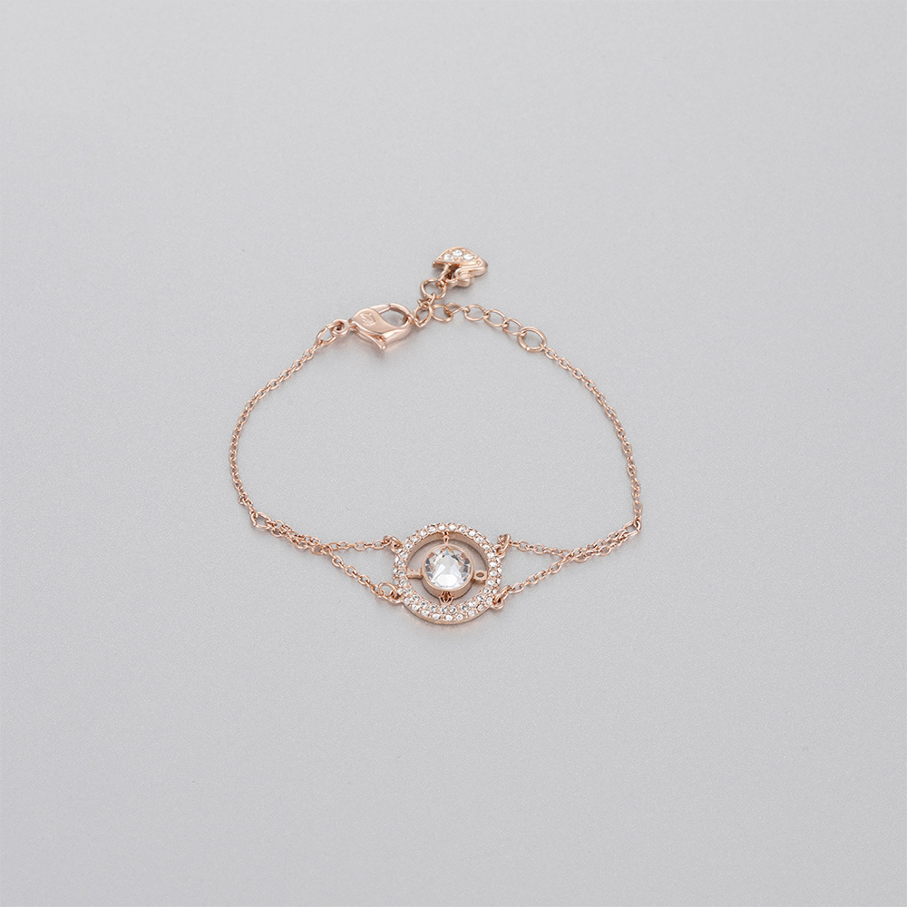 High Quality SWA LOVEBracelet Romantic 1 1 in Strand Bracelets from Jewelry Accessories