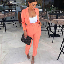 Tobinoone Two-piece suit sexy long sleeve long jumpsuit Women pants playsuit Female patchwork holiday jumpsuit overalls clubwear(China)