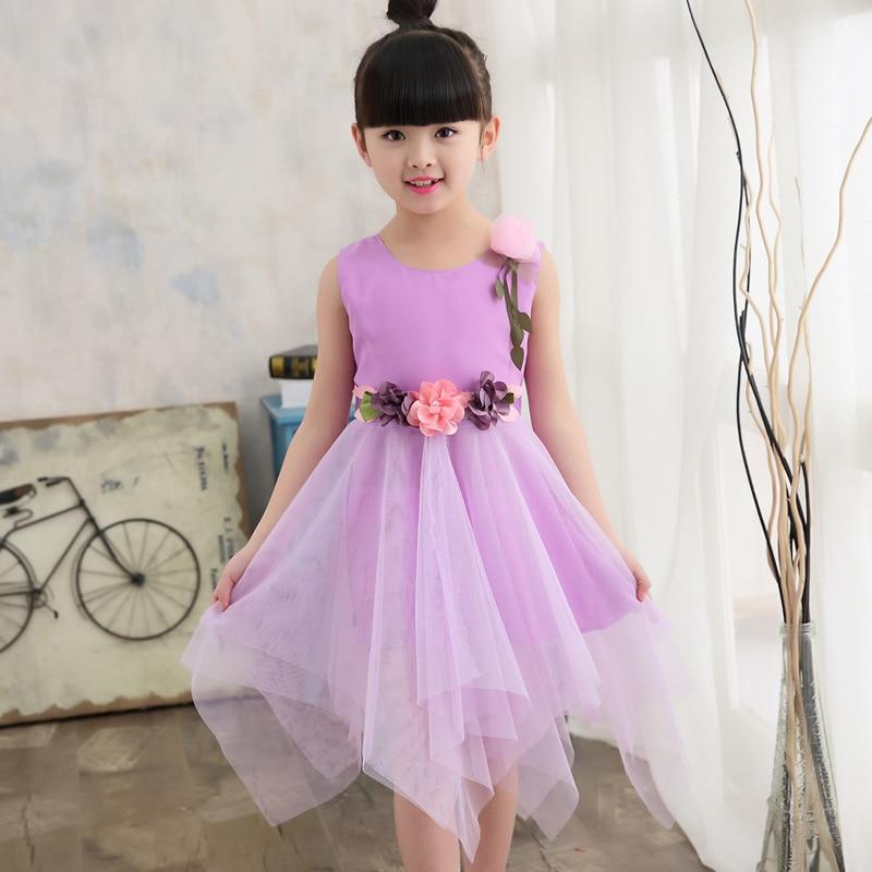 Vestidos para Meninas Crianças 5 7 9 11