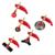 Multipurpose 2-TIEMPOS 52CC Multitarjetas 7 en 1 desbrozadora cortadora de césped cortadora de hierba árbol pruner Cortador de Arbusto Whipper Snipper