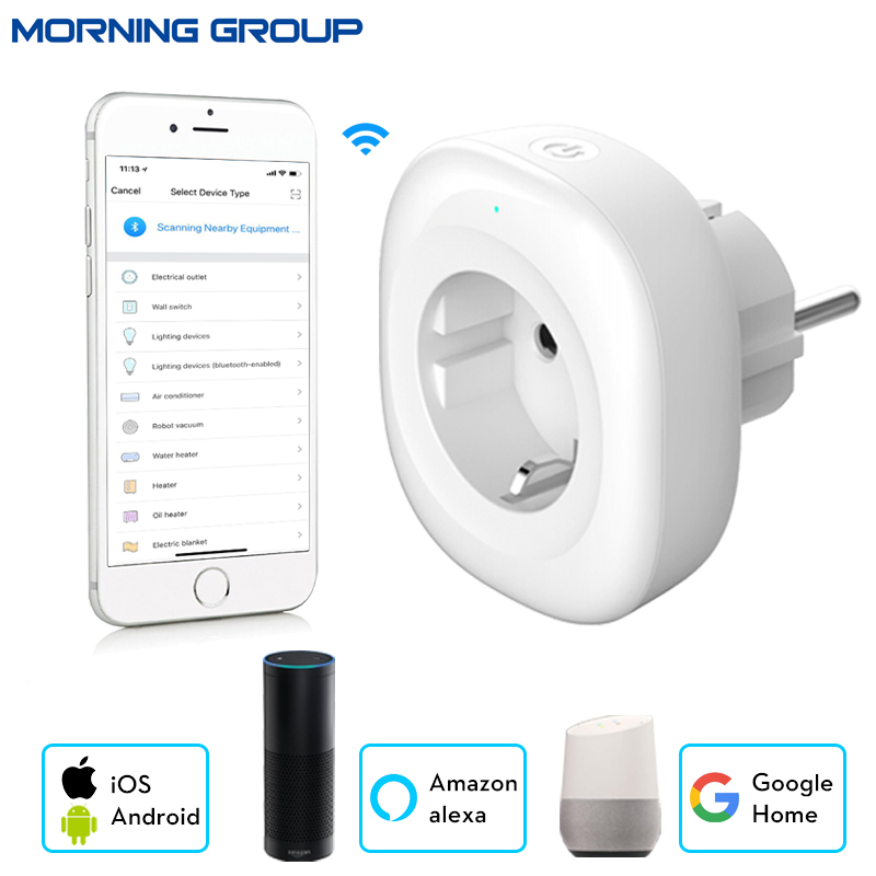 EU Power Plug Mini Wifi Smart Socket Mobile APP Remote Control USB Output Works with Amazon Alexa Google Home eu power plug mini wifi smart socket mobile app remote control usb output works with amazon alexa google home