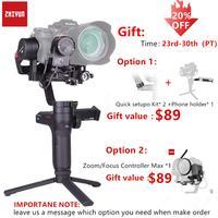 Zhiyun Weebill лаборатории 3 осевой Беспроводной изображение передачи Камера Стабилизатор Для беззеркальных Камера OLED Дисплей портативный моноп