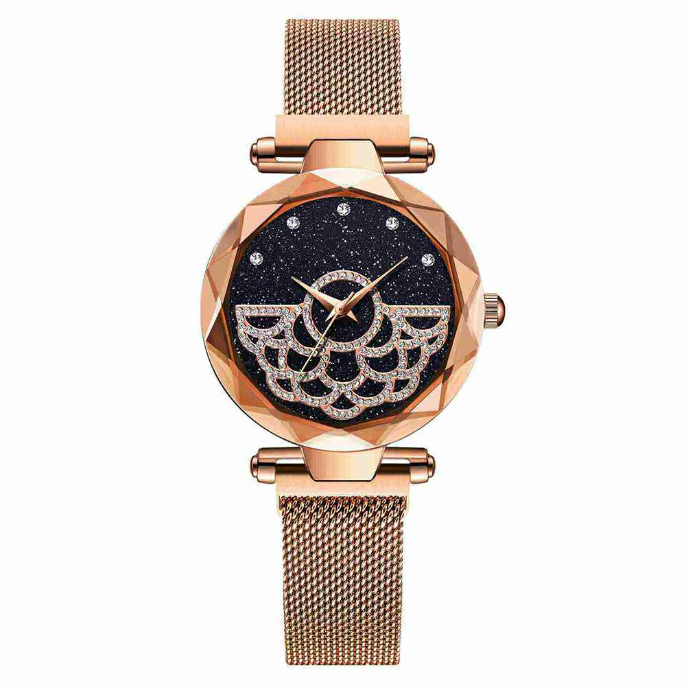 fashion-women-watch-on-hand-font-b-rosefield-b-font-starry-sky-relogio-femino-magnetic-buckle-diamond-watches-stainless-steel-mesh-belt-clock