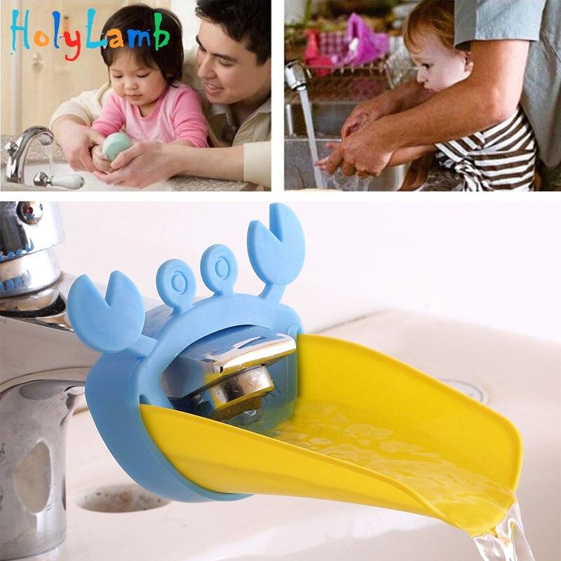 Crab Cartoon Faucet Extension Children's Guide Sink Hand San