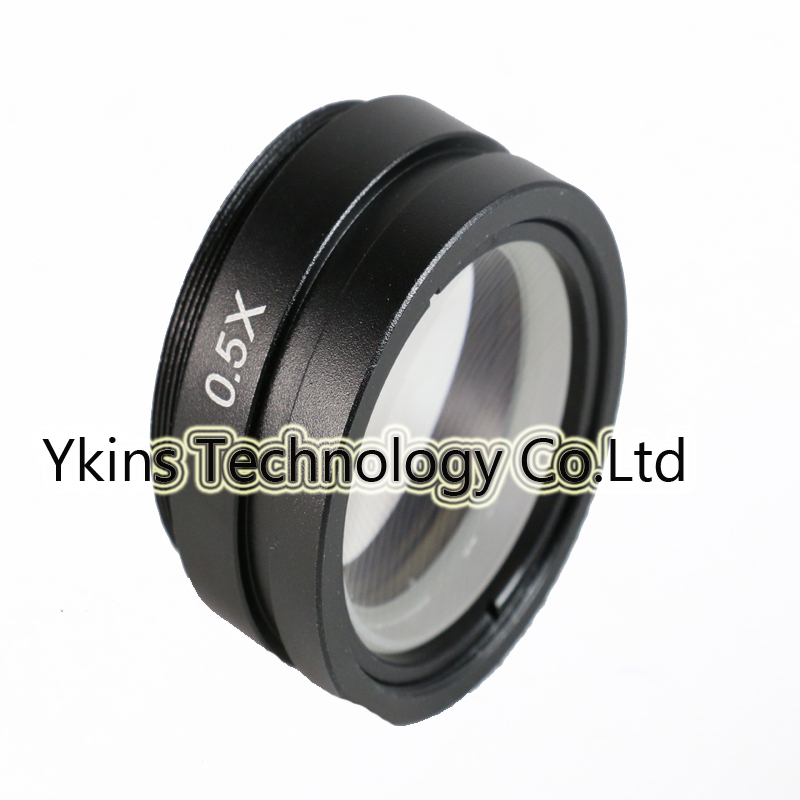 0.5X Barlow Lens for Industrial Microscope Camera Objective lens for 10A C-MOUNT lens Visual field