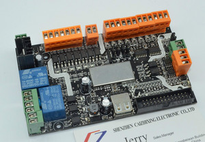 Image 2 - האחרון מוצר USB cnc עם usbcnc צמח רישיון, MDK1/4 ציר USB CNC כרטיס בקר ממשק לוח USBCNC להחלפה