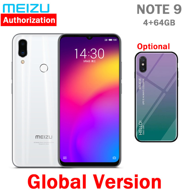 """В наличии глобальная версия meizu Note 9 4 GB 64/128 GB 48.0MP камера отпечатков пальцев Snapdragon 675 Восьмиядерный 6,2 """"2244x1080 p FHD"""