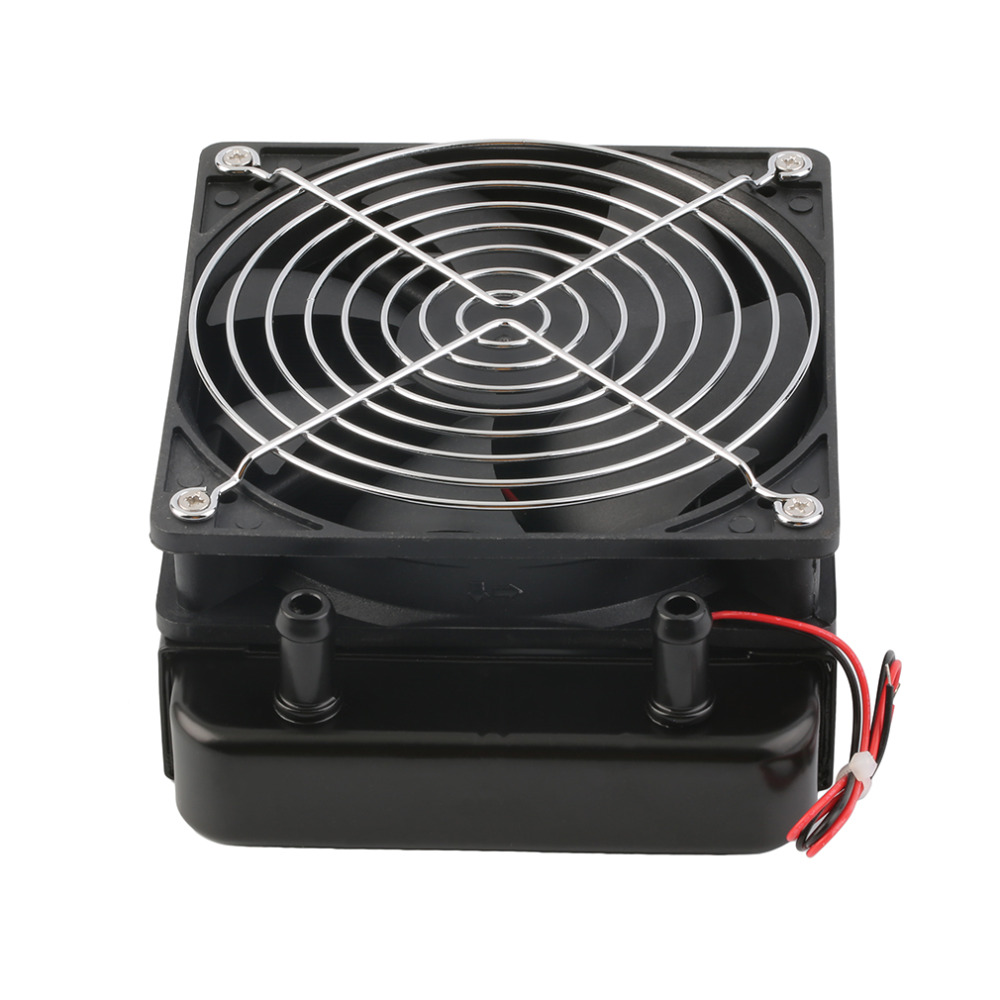 120mm Water Cooling CPU Cooler Row Heat Exchanger Radiator with Fan for PC TO