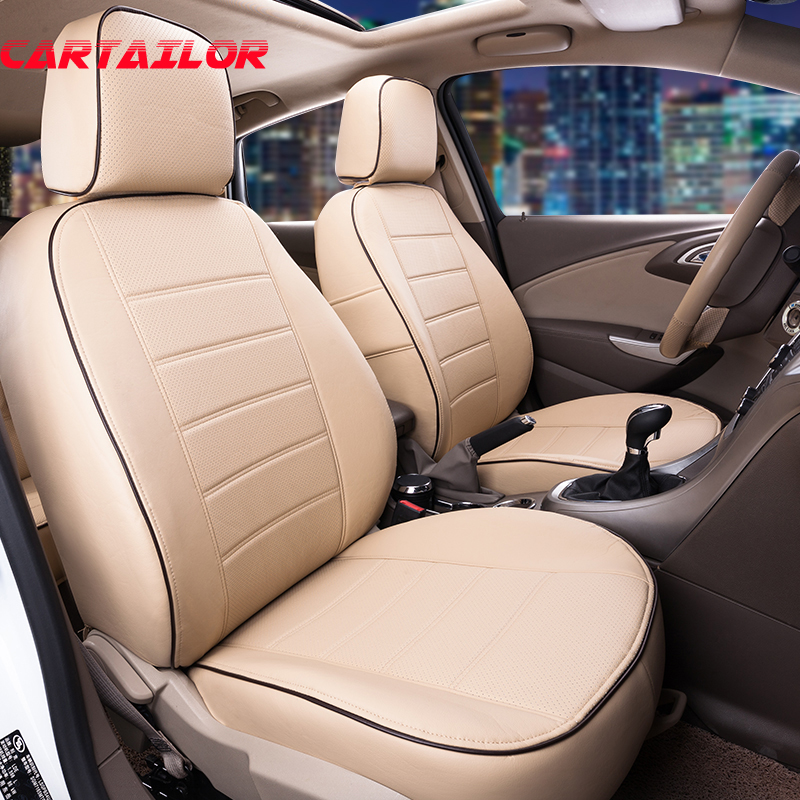 CARTAILOR Seat Covers & Supports fit for Volkswagen VW Multivan Car Accessories PU Leather Car Seat Cover Set Airbags Compatible