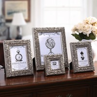 Wedding Decoration Vintage Picture Frames Wooden Foto Frames Modern Wall Photo Frames Family Square 3 6 7 10 Inch Creative