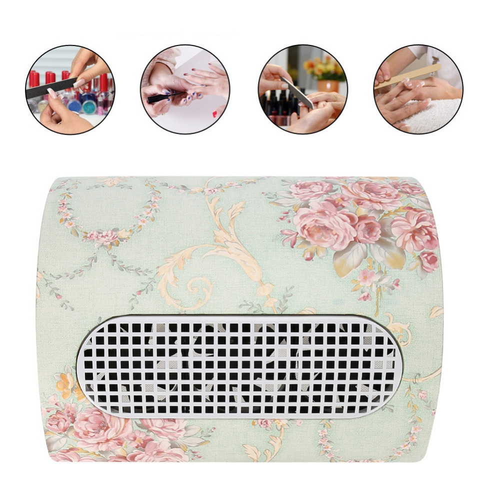 15W 3 Fans US/EU plug green Electric Nail Dust Collector Vacuum Cleaner Tool Nail Art Salon Manicure Tool 100-240V with Manual15W 3 Fans US/EU plug green Electric Nail Dust Collector Vacuum Cleaner Tool Nail Art Salon Manicure Tool 100-240V with Manual