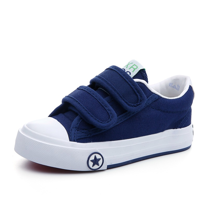 New 2018 spring autumn children canvas shoes breathable casual soft bottom shoes for girls and boys school sports casual shoee