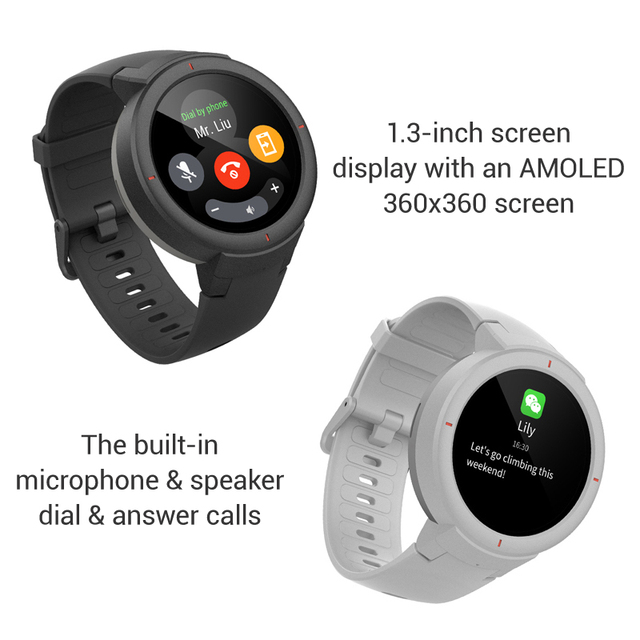 Amazfit Verge AMOLED Screen GPS Smart Watch 2