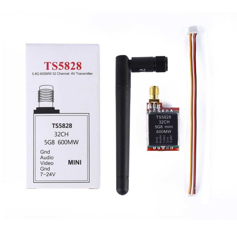 5.8GHz 600mW 32 Channels Mini Wireless 2dbm A/V Transmitter Video TX Module For FPV RC Quadcopter