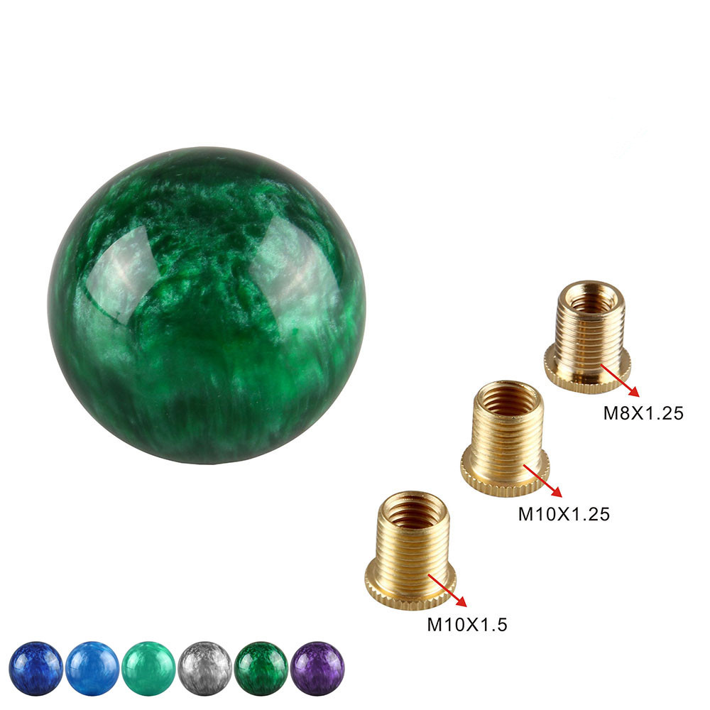 Marble style Round Gear shift knob Automatic Manual Shift Knob For