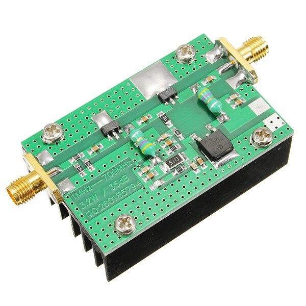 1 PC 1 MHz-700 MHZ 3.2 W HF VHF UHF FM Émetteur RF Amplificateur de Puissance Pour Ham Radio Module Nouveau Gros