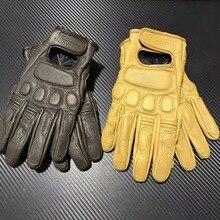 Новое поступление; винтажные кожаные городские Ретро перчатки мотоцикл Перчатки блэкджек сенсорный экран