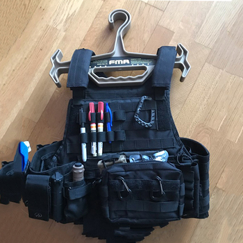 FMA Tactical Wieszak Army Vest Armour Regulator Ubrania Heavy Duty Wieszaki Płyta Skrzynia Rig Wieszak Akcesoria Myśliwskie TB1015