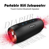 Zealot S16 Column Outdoor Bluetooth Speaker Wireless Metal Waterproof Portable Speaker High Power Subwoofer+sd TF card slot