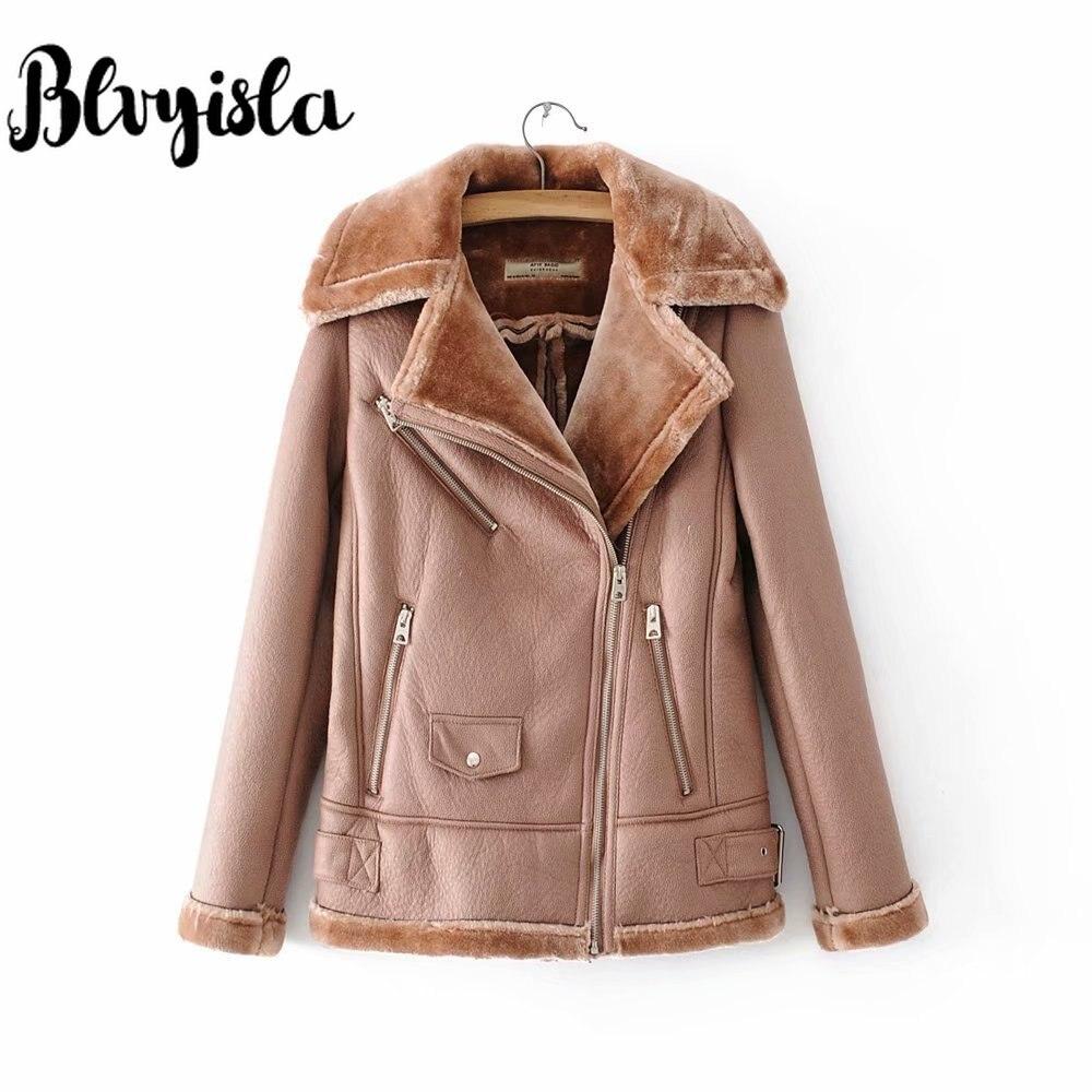 vert Manteaux D'hiver Faux Veste Cuir En Épaissir Femmes Pu orange Blvyisla De Outwear Mode Noir Chaud SHnFv6qw7x