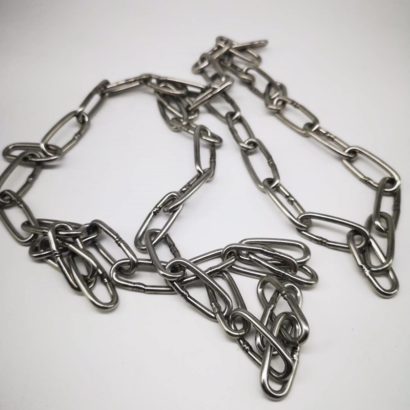Different Lengths 304  Diameter 3mm  Stainless Steel Link Chain