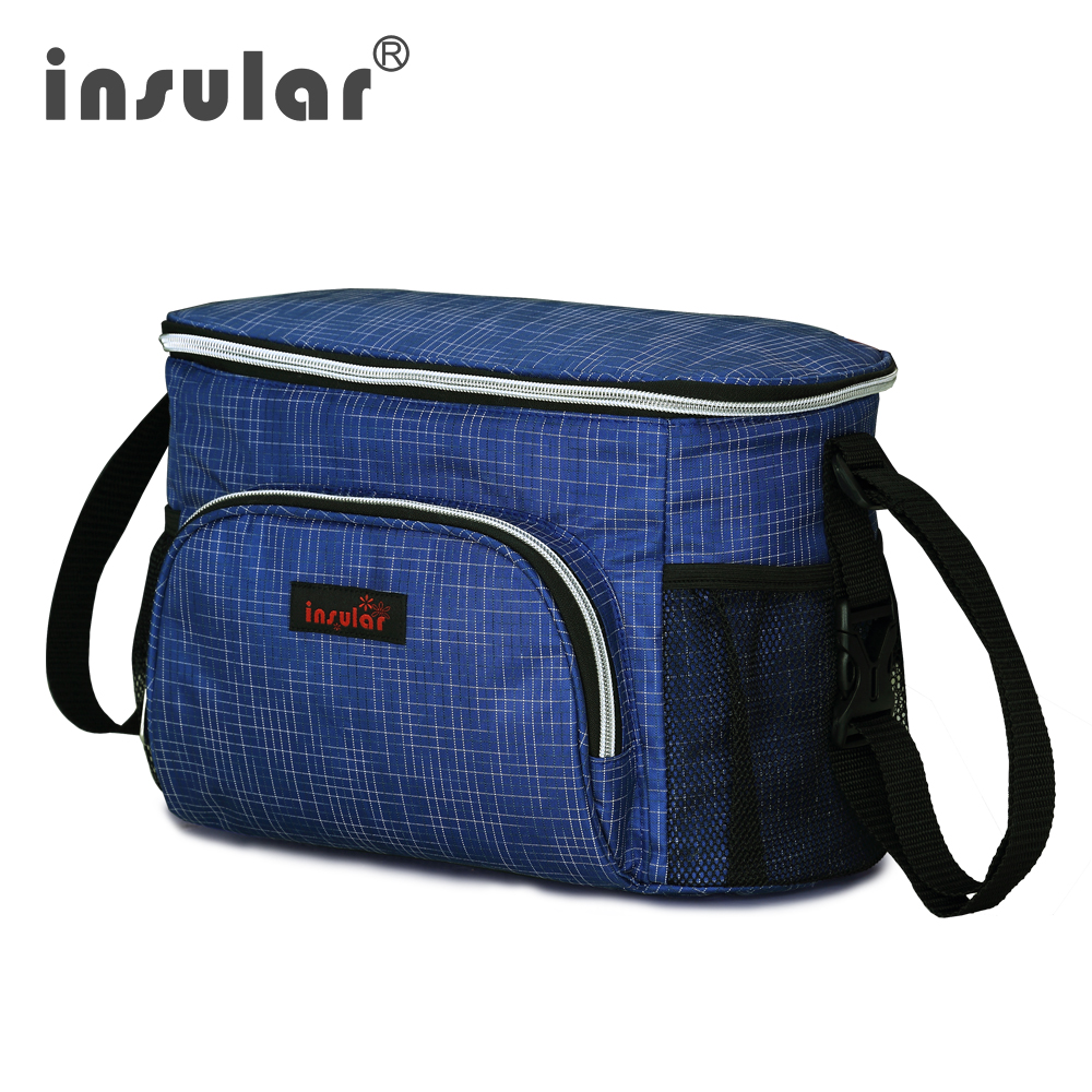 New Style Insular Waterproof Baby Diaper Bag Messenger Mommy Bag Thermal Insulation Stroller Bags
