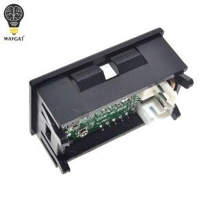 """Image 5 - DC 0 100V 10A woltomierz cyfrowy amperomierz podwójny wyświetlacz czujnik napięcia miernik prądu Panel Amp woltomierz 0.28 """"czerwony niebieski LED"""