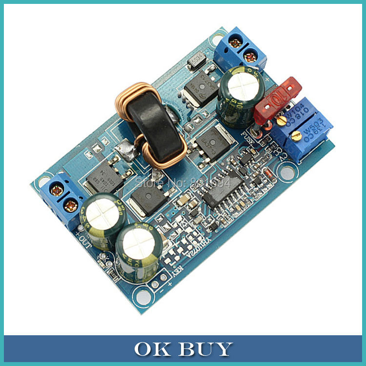 DC-DC Automatic Boost Buck Converter 5-32V to 1.25-20V 60W 5A CC CV Step   up/down Power Supply Module LED Driver dc dc automatic step up down boost buck converter module 5 32v to 1 25 20v 5a continuous adjustable output voltage