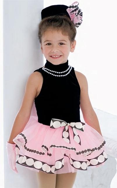 92bc386903e1 New blue kids children little girl competition Ballet Dress ...